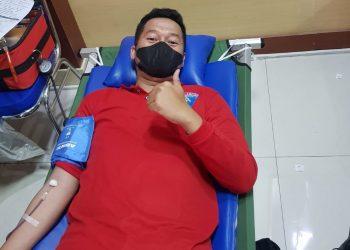 Gambar Peringati Hari Dharma Karya Dhika, Lapas Serang Ikuti Bakti Sosial Donor Darah 5