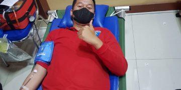 Gambar Peringati Hari Dharma Karya Dhika, Lapas Serang Ikuti Bakti Sosial Donor Darah 9
