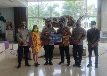 Gambar Jalin Sinergitas, Dirpamobvit Polda Banten Kunjungi PT Modern Cikande 13