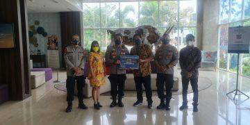 Gambar Jalin Sinergitas, Dirpamobvit Polda Banten Kunjungi PT Modern Cikande 7