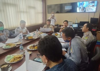 Gambar Ditlantas Polda Banten Melaksanakan Rapat Antisipasi Dampak Pembangunan Kantor Kelurahan Warung Jaud 11