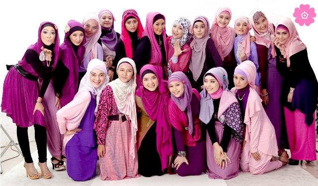 Berbagai Macam Model Jilbab Modern