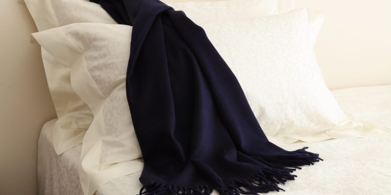 scarf, pashmina, the bed