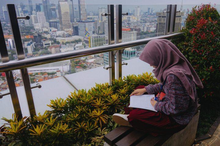 Bisnis Jilbab Segi Empat dari Supplier Tangan Pertama