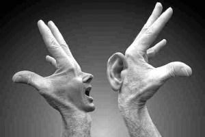 Renungan Ketika tangan dan kaki berbicara