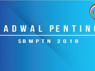jadwal penting sbmptn 2018-01
