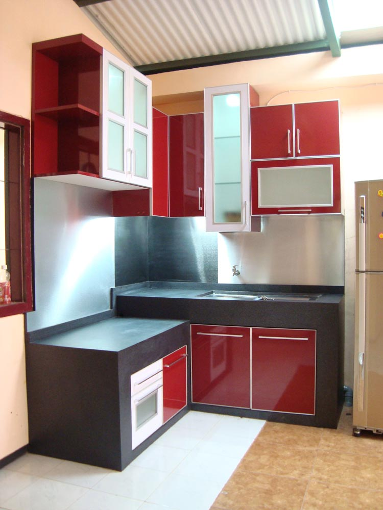 kitchen set minimalis  mitra santosa