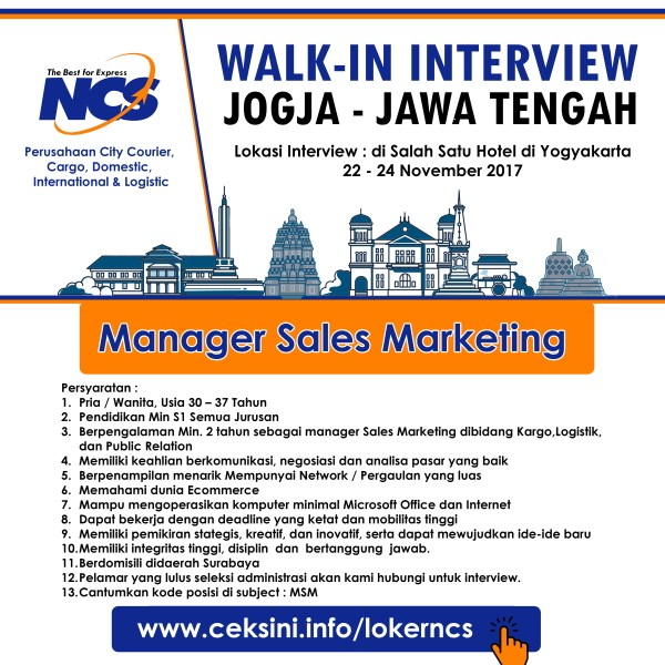 Manager Sales Marketing