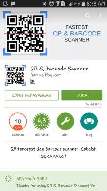 Q&R barcode