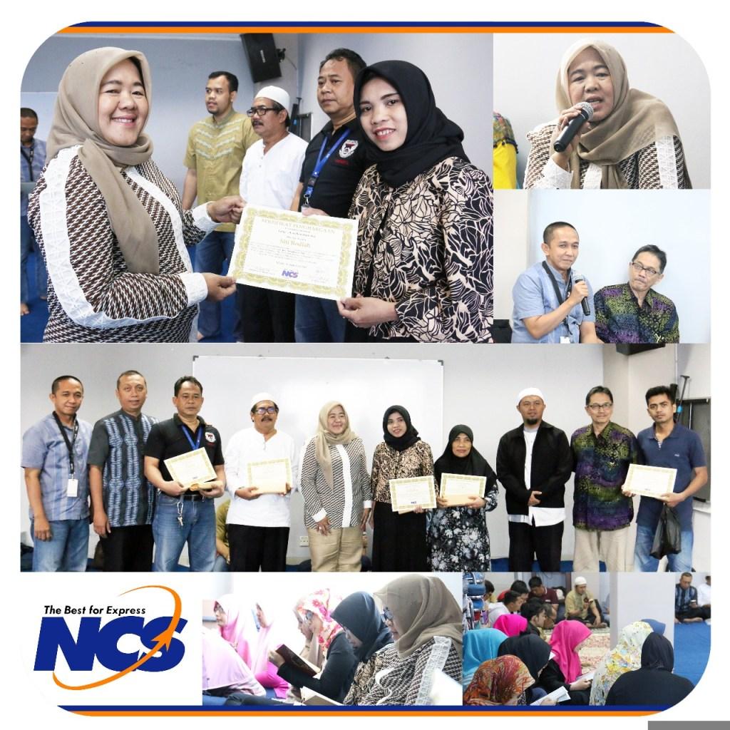 NCS Memberangkatkan Haji Karyawan Berprestasi