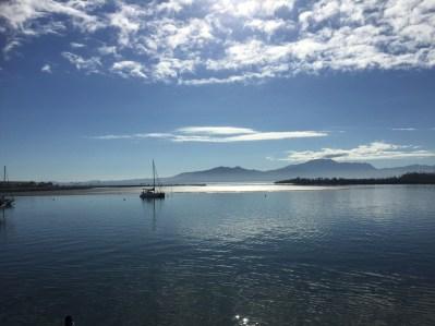 Leaving Denarau Port