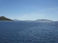 Cruising around Mamanuca Islands
