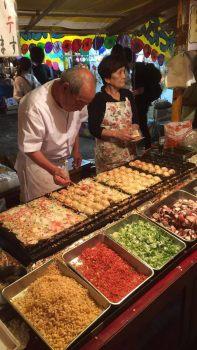 Hanazono Festival Street Food - 'Takoyaki'