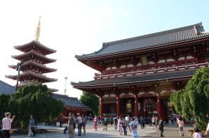 Sensoji Temple and Pagoda