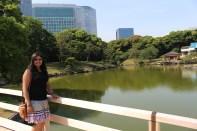 Hamarikyu Gardens Pond