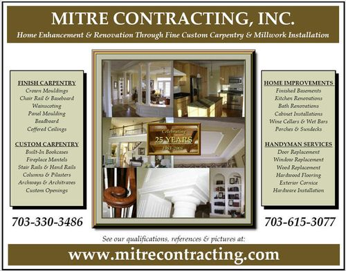 beadboard chair rail writing desk with - mitre contracting, inc.