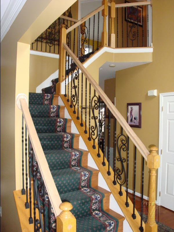 Stair Railing Baluster Replacement  MITRE CONTRACTING INC