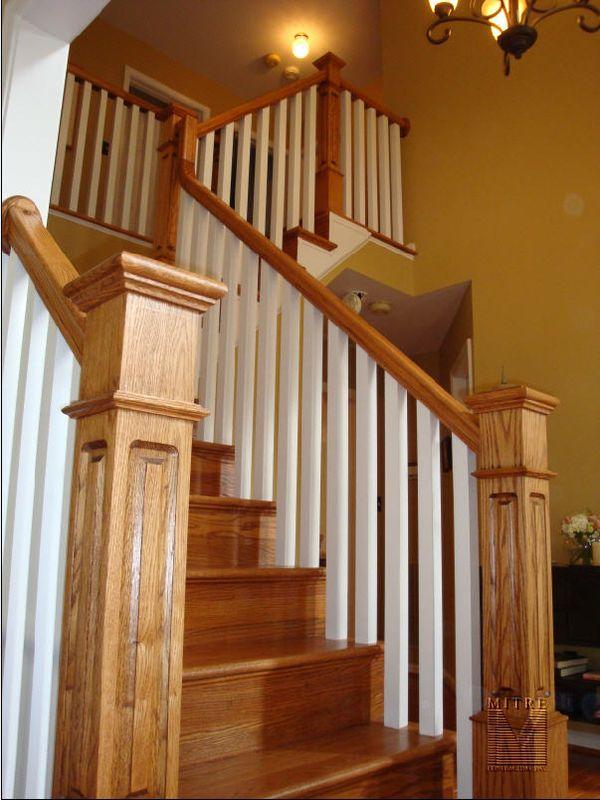 New Stair Railings Newel Posts  Balusters  MITRE