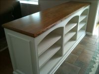 Double Sided Built-In Half-wall Bookcase - MITRE ...