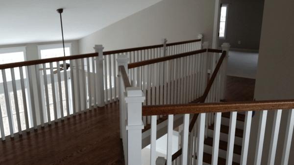 Craftsman Style Stair Railing Mitre Contracting Inc | Craftsman Style Stair Railing