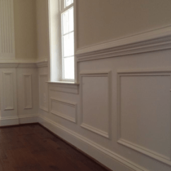 Picture Frame Moulding Below Chair Rail Brown Eames Lounge Mitre Contracting Inc Wainscot Shadowboxes Under