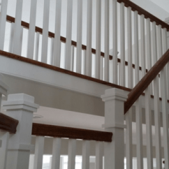 Chair Rail Profiles Salon Chairs In Delhi Craftsman Style Stair Railing - Mitre Contracting, Inc.