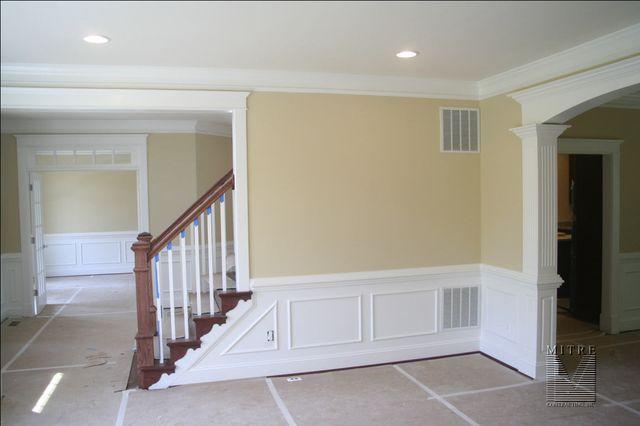 TRIMWORK Living Room Mouldings  Trimwork