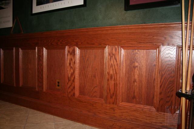 oak chair rail walmart table and sets wainscoting wainscot
