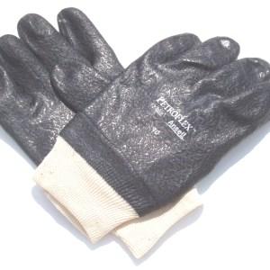 SS-530301 BLACK PVC RUBBER GLOVES