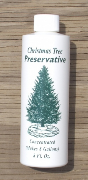 PRS-KIG-SINGLE: CHRISTMAS TREE PRESERVATIVE, SINGLE BOTTLE