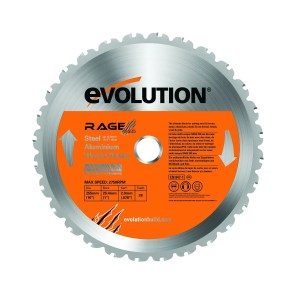 Evolution RAGE 255mm Multipurpose TCT Blade