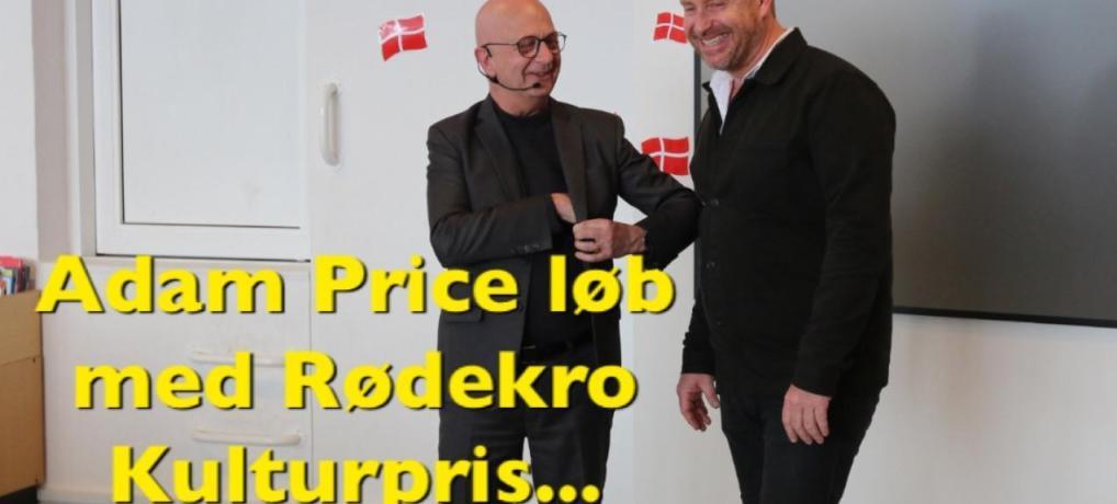 PODCAST: Adam Price løb med Rødekro Kulturpris