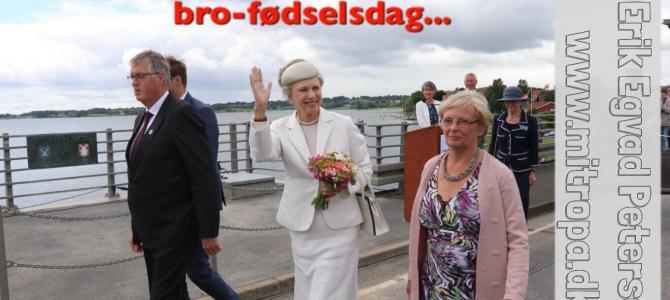 SE VIDEO – Prinsesse Benedikte til 50-års bro-fødselsdag
