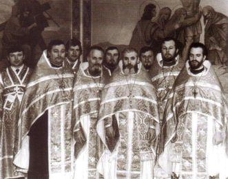 Alături de confrații slujitori