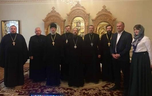 Протоиерей Александр Пелин выступил на межрелигиозном форуме в Алма-Ате