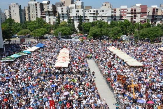 У Подгорици одржан Тројичиндански сабор – за одбрану светиња