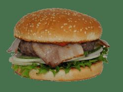 Náš burger vypadá lépe ve skutečnosti