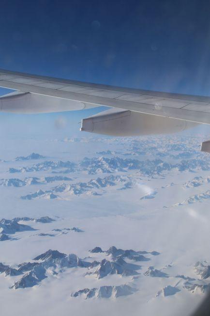 Ostgrönland aus der Luft