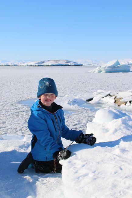 glücklicher Arktisreisender 2
