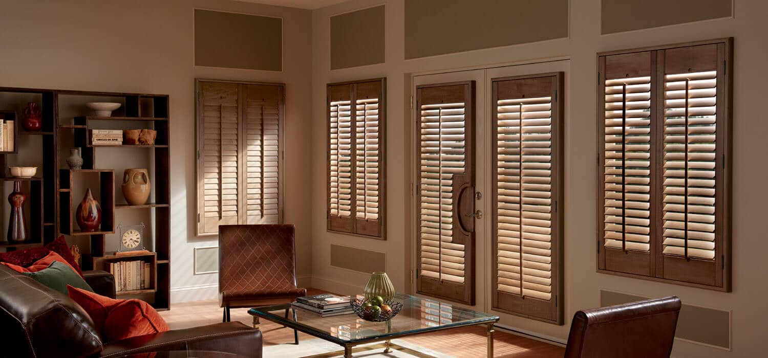 Faux Wood Shutters Made In The Shade Denver