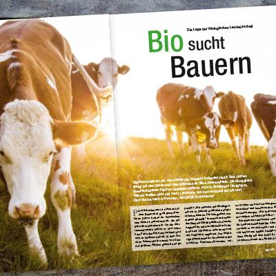 """Beitrag """"Biobauern"""" von Birgit Schumacher"""