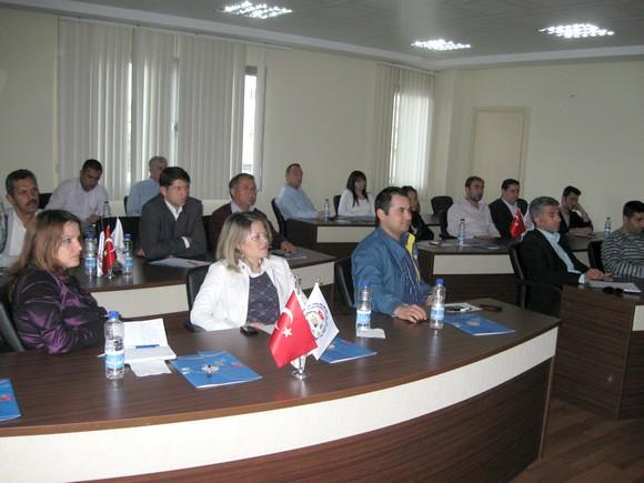 9. Grup Meslek Grubu – Sigortacılık Sektörü toplantısı yapıldı.