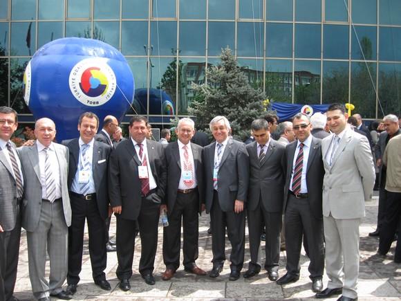 MİTSO Yönetimi TOBBnin Genel Kurulundan döndü