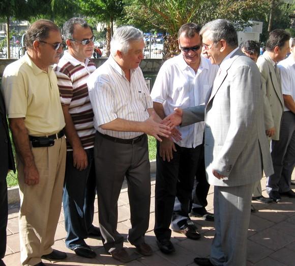 MİTSO Yönetiminden, Milas Kaymakamı M. Bahattin ATÇIya kutlama ziyareti…