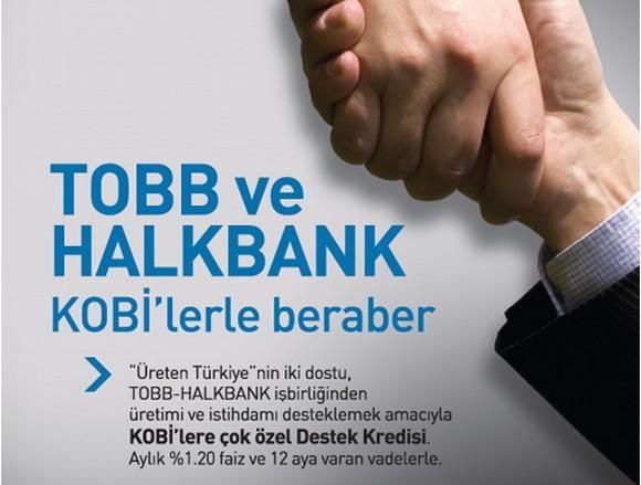 TOBB – HALKBANK İşbirliği Destek Kredisine İlişkin Açıklama