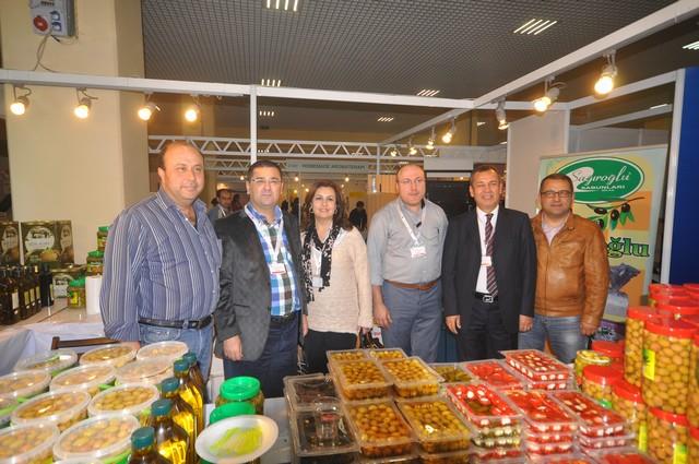MİLAS'IN ÜRÜNLERİ, İSTANBUL FUARINDA ÇOK BÜYÜK İLGİ GÖRDÜ