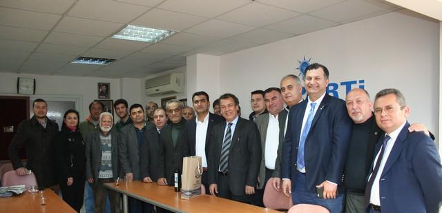 MİTSO'DAN AKP'YE KUTLAMA ZİYARETİ