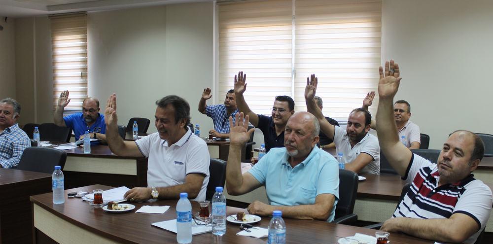 MİTSO'DAN DEMOKRASİ ŞEHİTLERİ İÇİN 5 BİN TL BAĞIŞ