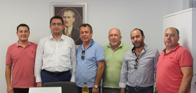 """MİTSO Yönetimi Ziraat Bankası'nın yeni müdürünü ziyaret etti  """"MİLAS'TA YATIRIM ALANI GENİŞ"""""""
