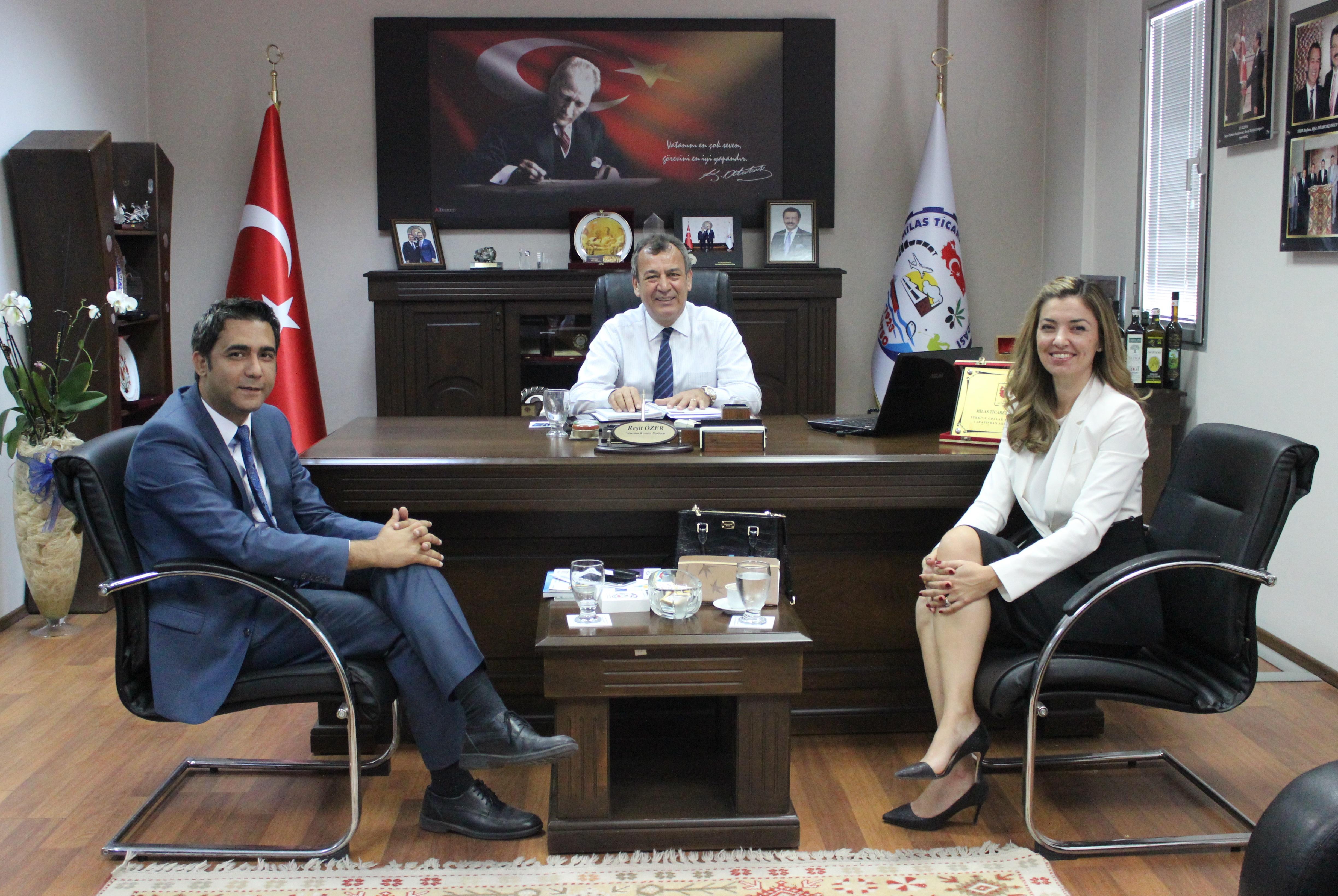Türkiye Ekonomi Bankası MİTSO'da…